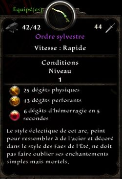 Ordre sylvestre stats