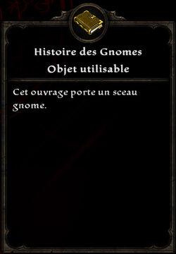 Histoire des Gnomes