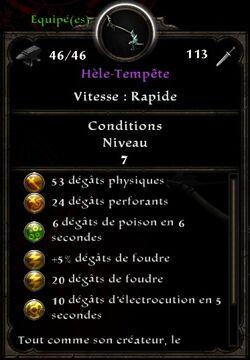 Hèle-Tempête stats