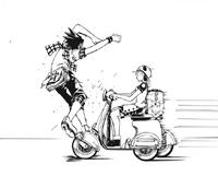 B Ichi Chapter 1 - Mana hits Shotaro