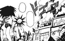 B Ichi Chapters 8 and 9 - Shotaro and Tool see Stadium explosion