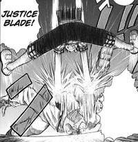 B Ichi Chapter 3 - Shotaro defeats Solence with Justice Blade