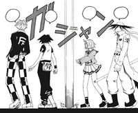 B Ichi Chapter 12 - Shotaro's Group separated by Fear Factory