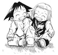 B Ichi Chapter 1 - Shotaro and Emine as children