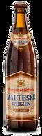 Stuttgarter Hofbräu Malteser Weizen Hefe Dunkel 0,5l-Flasche