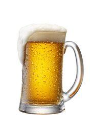 Bier in Krug