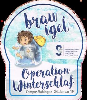 Brauigel Operation Winterschlaf Schönbuch Bier