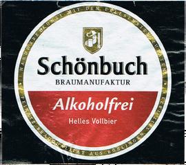 Schönbuch Alkoholfrei früheres Etikett