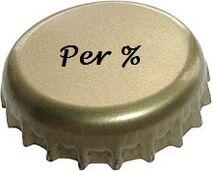 Kr per%