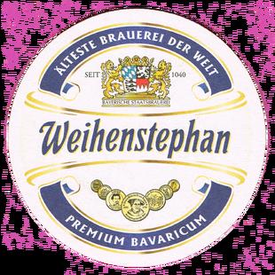 Weihenstephan Bierdeckel Logo