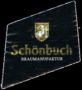 Schönbuch Pale Ale Halsetikett