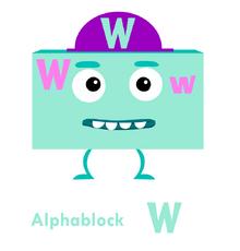 Alphablock W Big block singsong Wiki
