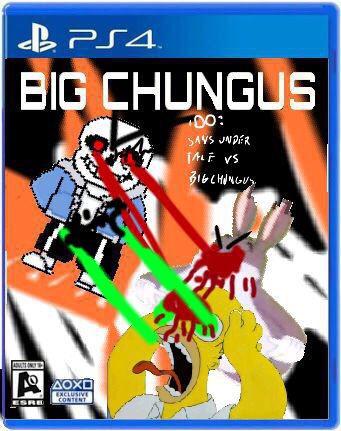 Big Chungus 12 Sans Undertale Vs Big Chungus Big Chungus Wiki