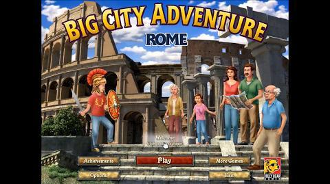 Big City Adventure Rome プレイ動画