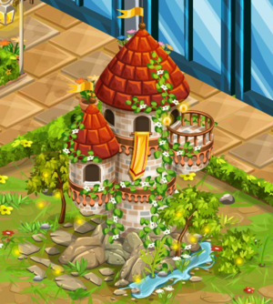 Imposing Fairy Tale Tower