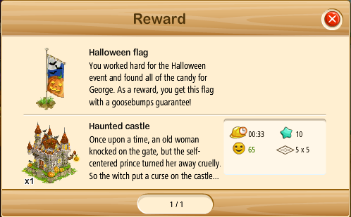 HalloweenReward