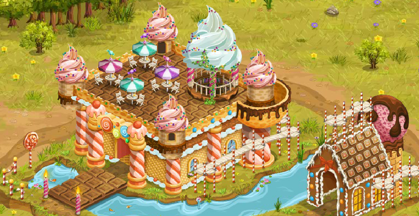 Candy On The Farm