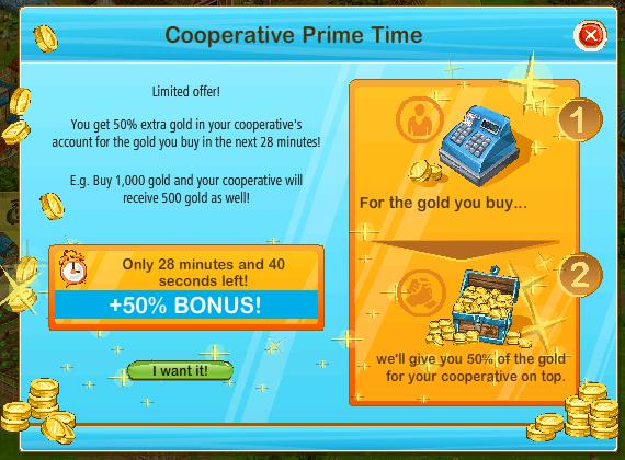 Coop prime time
