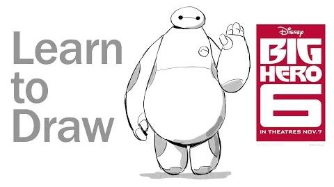 Learn to Draw Baymax from Big Hero 6 Disney Insider