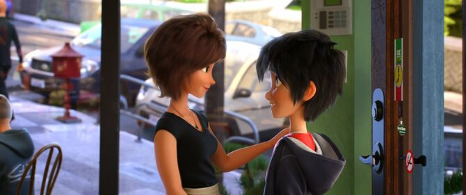 Hiro y tia cass