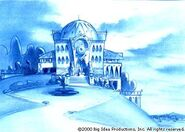 Mansion blue