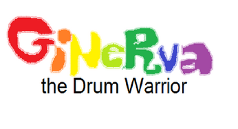 Ginerva, the Drum Warrior logo