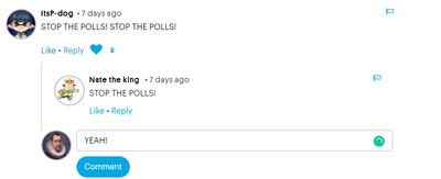 Stop the polls 1