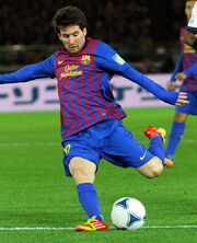 Lionel Messi Player of the Year 2011