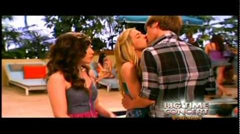 Kendall and Jo's First Kiss on Big Time Concert (HQ)