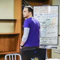 Back in Sheldon's old room.