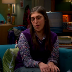 Amy happy that the doctor thinks Sheldon has a way with women, her specifically.