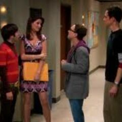 Meeting Sheldon's sister Missy.
