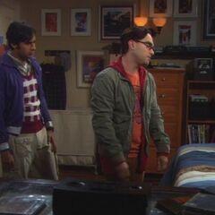 S03E09 = Leonard & Raj try to reason with Sheldon