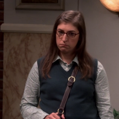 Amy left alone after she learns that Sheldon is considered dating other women.
