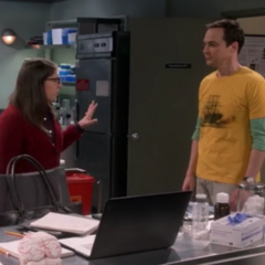 Just a minute Sheldon.