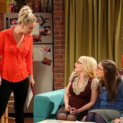 Penny tells her friends not to let Leonard know that they helped her.