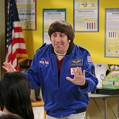 Astronaut Howard Wolowitz.