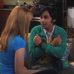 Raj tells her that they have love.
