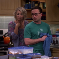 Lenny sad hearing that Sheldon told Amy he rather they just be friends.