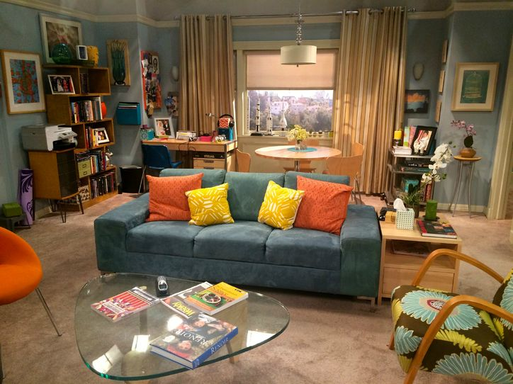 plan appartement big bang theory