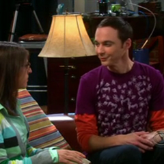 Sheldon pulls a Bazinga on Amy.