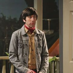 Howard comes to see Raj and apologize.