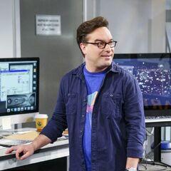 Leonard has something for Sheldon.