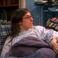 Amy hears that Sheldon wants to apply vapor rub to her chest
