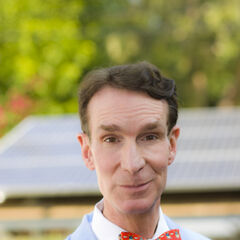 Bill Nye the Science Guy - Professor Proton's rival.