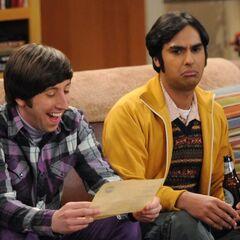 Howard and Raj.