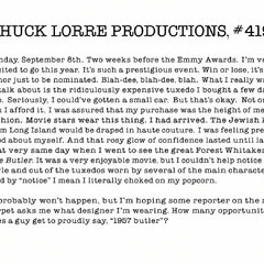 Chuck Lorre Productions, #419.