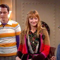 Sheldon, Elizabeth and Leonard.