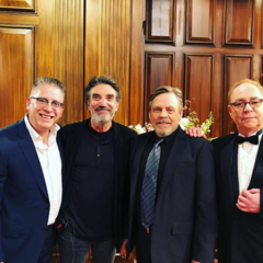 Mark, Teller, Bill and Chuck.