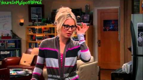 Sexy Penny With Glasses - The Big Bang Theory